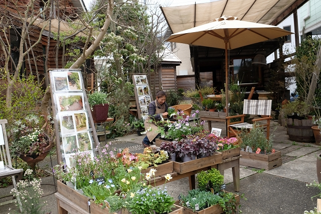 ガーデンマーケットオープン
