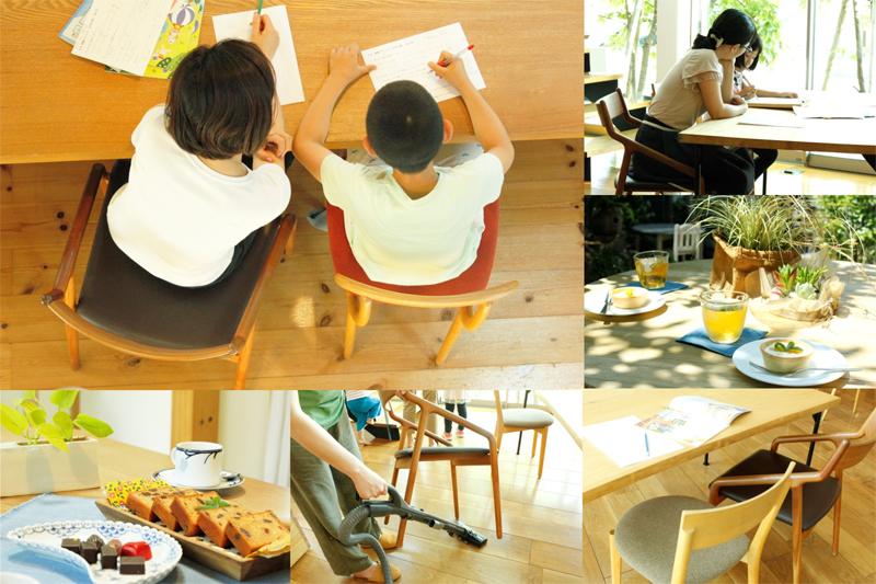 忙しいママもゆったり過ごせるステキな椅子展